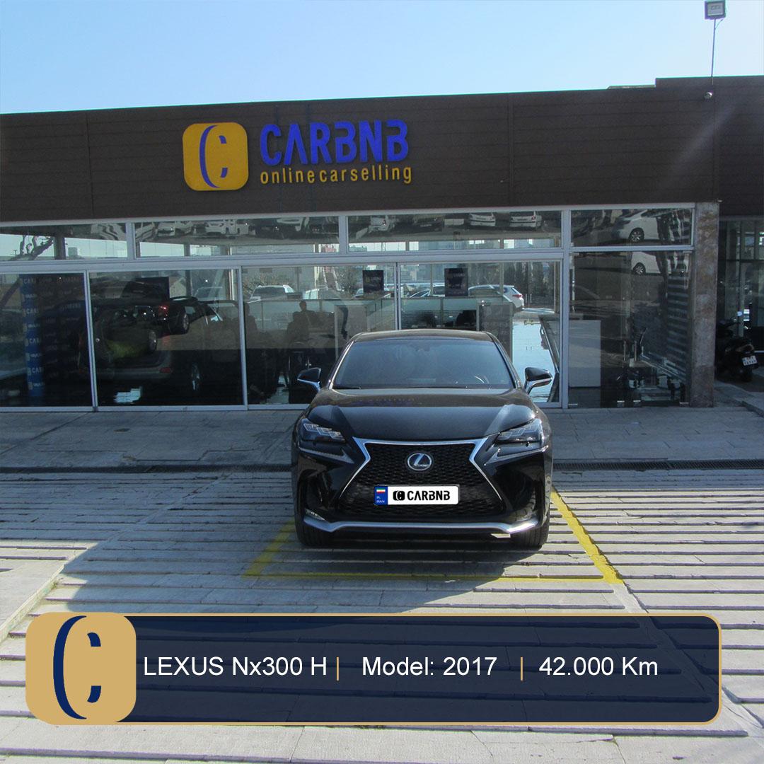 لکسوس NX هیبرید ، 300h F-sport، 2017 (1)